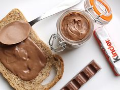 Kinder chocolate nutella ahh *