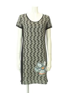 Knitted One-piece Dress,Desigual