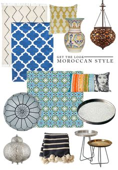 Get the 'Moroccan' Bohemian  look for your home easily! Shop for the latest Moroccan furnishing @ best market rates on amranidesign.com