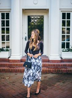 Midi Skirts New Trend for This Spring
