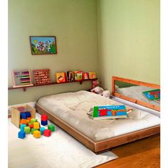 ettino montessori, lettino stile montessori, lettino woodly, lettino woodly impilabile