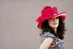 Kentucky Derby Hat by PAULA SINGLETON #millinery #hats #HatAcademy