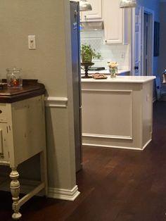 Wood floors installed by Winston Floors + Countertops.