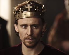 "Tom Hiddleston as Henry V ""The Hollow Crown"" (2012)"