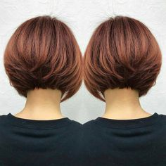 DM for request REPOST. Short Layered Bob Haircuts, Inverted Bob Hairstyles, Pixie Haircuts, Bob Haircut For Fine Hair, Bob Hairstyles For Fine Hair, Medium Hairstyles, Formal Hairstyles, Braided Hairstyles, Short Hair With Layers
