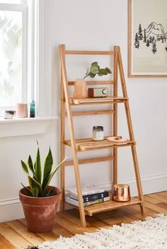 home accents shelves Levy Storage Shelf Slatted Shelves, Storage Shelves, Bed Storage, Bedroom Storage, Storage Rack, Wood Wall Shelf, Wall Shelves, Shelves In Bedroom, Wall Hooks
