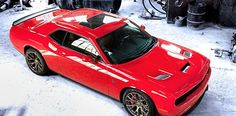 2015 Dodge challenger with hellcat motor