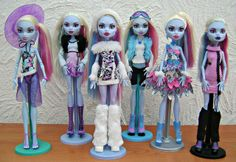 Monster High Abbey Bominable by DiamondGlamour, via Flickr