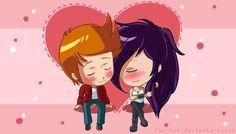"A #shipppy pic of Fry and Leela called ""In Reach"" by Fuu-kun (Bonnie)   #Futurama"
