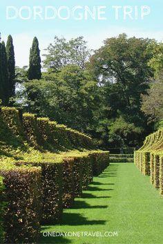 Les jardins du manoir d'Eyrignac, une invitation à la rêverie et à la découverte.
