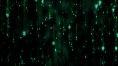 free vj's loop (Digital Rain)