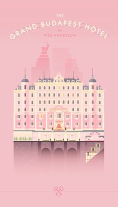 The Grand Budapest Hotel Detail Drawings by Lorena G // illustration / flat / Wes Anderson Grand Hotel Budapest, Wallpaper Gratis, Iphone Wallpaper, Cinema Posters, Movie Posters, Grande Hotel, Flat Drawings, Photocollage, Flat Illustration