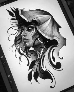 Neo Traditional Art, Traditional Tattoo Woman, Traditional Tattoo Old School, Traditional Tattoos, American Traditional, Tattoo Sketches, Tattoo Drawings, Body Art Tattoos, Art Sketches