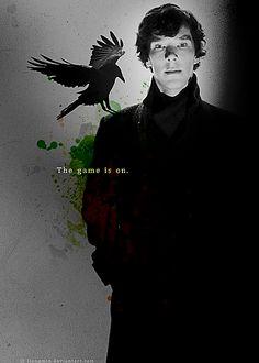 BBC Sherlock: The Sentinel by ~liangmin on deviantART