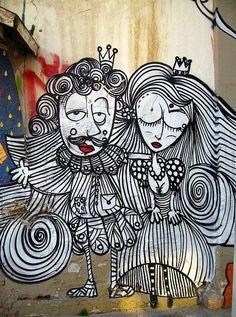 Street Artist: Sonke in Athens