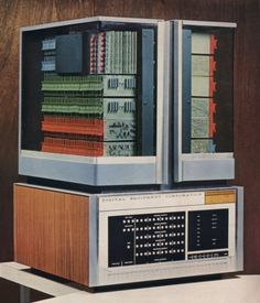 PDP8 - Digital Equipment Corporation, 1968 - Considered the first successful mini computer