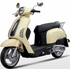 BMS Mediterranean 150 Moped Scooter : California Legal Scooters
