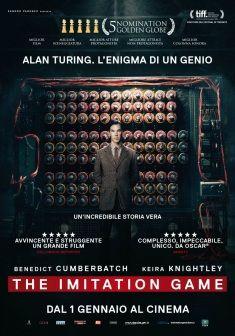 The Imitation Game, dal 1° gennaio al cinem,a.