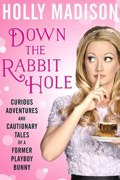 Holly Madison's book, because yes I do like some occasional garbage reading.
