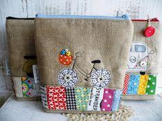 little appliques bags by Mona W