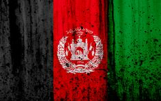 Download wallpapers Afghanistan flag, 4k, grunge, flag of Afghanistan, Asia, Afghanistan, national symbols, Afghanistan national flag