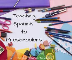 A blog about resources for language teachers of preschool and elementary-aged children.