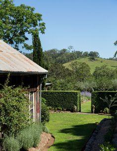 Larry and Mickey Robertson · Glenmore House — The Design Files The Design Files, Design Blog, Design Ideas, Landscaping Tools, Backyard Landscaping, Bush Garden, Farmhouse Garden, Australian Garden, Farm Gardens