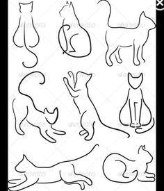 Einfache Linien, könnte man vielleicht noch filigraner machen Reihe 2, Nummer 2 (Männchen machend)