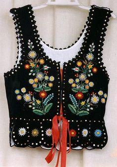 Embroidered vest - Polish
