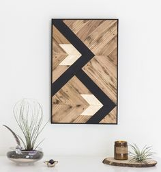 Reclaimed Wood Art // DiY Inspo