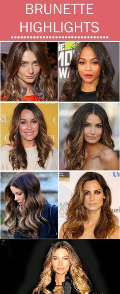 Brunette / balayage / Highlights / looks / celebrities / hair / color / hairstyle / hairstyles / summer/ winter / inspiration / beauty /ideas / blonde / red / beautiful / trendy / latest / popular / long /short / medium / dark / black.