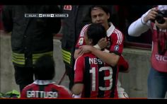 Pippo Inzaghi, the perfect sign off