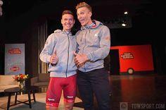 source instagram tdwsport  Reunited again @tonymartin_procyclist @marcelkittel @katushacycling @alpecincycling #2018 #teampresentation #mallorca #spain #cycling #fun #happy  tdwsport  2017/12/11 01:37:05