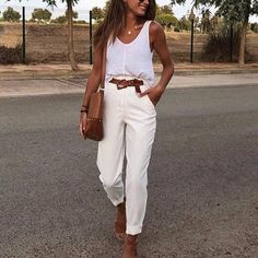 Best Fashion inspo Part 6 Summer Outfits, Casual Outfits, Fashion Outfits, Womens Fashion, Fashion Fashion, Pantalon Slouchy, Look Office, Summer Lookbook, Looks Chic