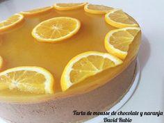 Nueva receta disponible en el Blog: Tarta de mousse de chocolate y naranja Orange, Fruit, Desserts, Food, Merlin, Chocolate Mousse Pie, Bacon, Cooking Recipes, Postres