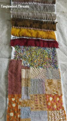 Tanglewood Threads: Scratchings 2015