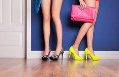 Como montar looks fabulosos a partir de sapatos estampados ou coloridos.