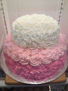 it's a girl baby shower cake - Google Search