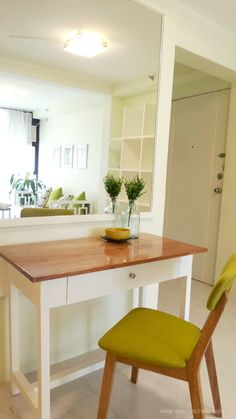 Transforming A 28 Sqm Studio Unit Along The Busy Street Of Tandang Sora Avenue Into Something Airy And Relaxing Is Totally Doable With Small Budget