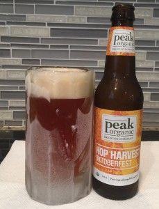Hop Harvest Oktoberfest by Peak Organic Brewing Company