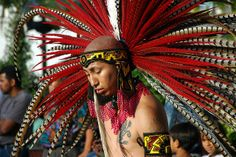Aztec Indians | Aztec Indian Headgear