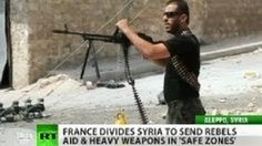 #France to give heavy artillery to #Syria rebels to 'smash #Assad regime'