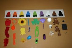 We started our study of the sense of sight by talking about colors. Five Senses Preschool, 5 Senses Activities, My Five Senses, Color Activities, Sensory Activities, Preschool Activities, Sensory Play, Preschool Colors, Preschool Themes