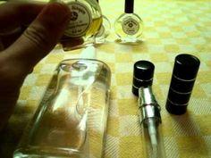 Como hacer un perfume - YouTube
