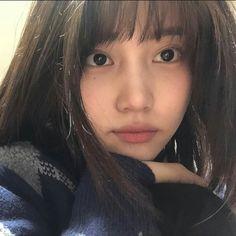 Cute Korean Girl, Asian Girl, Boy And Girl Best Friends, My Girl, Korean Bangs, Lavender Aesthetic, Asian Eye Makeup, Asian Eyes, Cute Messages