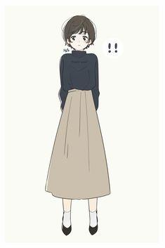 Kawaii Anime Girl, Anime Art Girl, Cute Illustration, Character Illustration, Manga Girl, Character Art, Character Design, Dibujos Cute, Korean Art