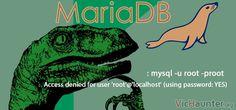 Cómo solucionar que root no puede acceder a MariaDB tras instalarlo -  Pero por qué!! Si acabas de instalar MariaDB y no te deja acceder con el usuario root tanto si lo haces desde consola como si es con php (o tu lenguaje de programación) no te desesperes que tiene solución. En este caso el problema se suele presentar solamente en Linux y es más habitual que []  La entrada Cómo solucionar que root no puede acceder a MariaDB tras instalarlo aparece primero en VicHaunter.org.