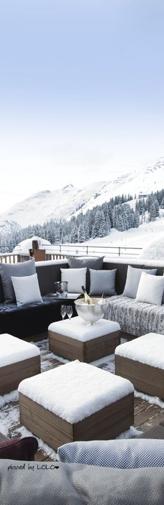 Chalet N in Oberlech...Austria- No where else we'd rather be. Snow| snow holiday| ski holiday| ski chalet| Austria | champagne|