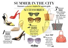 #summerinthecity #accessories #shoes #bags #womensfashion