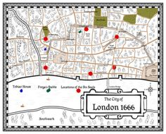 Great Fire Of London Map.The London That Could Have Been London Pinterest Great Fire Of